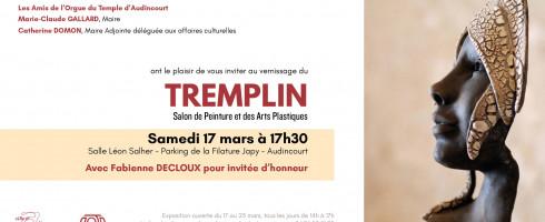 Première exposition…au Tremplin
